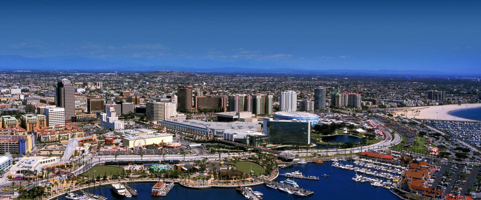 Photo: Aerial view of Long Beach